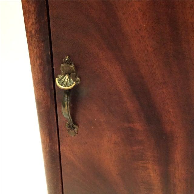 Antique Mahogany Sheet Music Cabinet - Image 6 of 7
