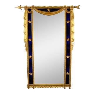 Directoire Gilded Cobalt Mirror