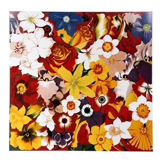 "1980 ""Flower Fiesta"" Print by Lowell Blair Nesbitt"