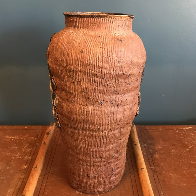 Indian Head Ceramic Vase - Image 8 of 9