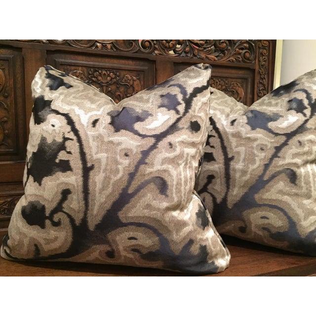 Sahco Bergamo Mida Pillows - A Pair - Image 3 of 4