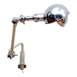 Mid-Century Industrial Dentist Lamp