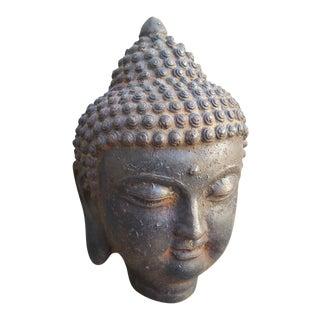 Cast Iron Buddha Statue