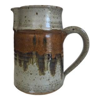 Vintage Studio Pottery Stoneware Pitcher