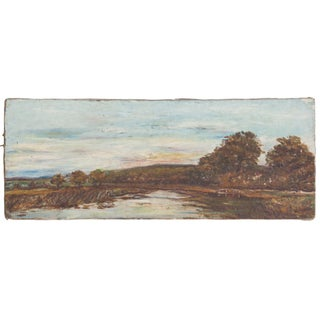 Antique Landscape Painting