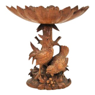 Black Forest Quail Candy Dish