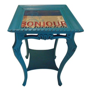 Painted French Side Table