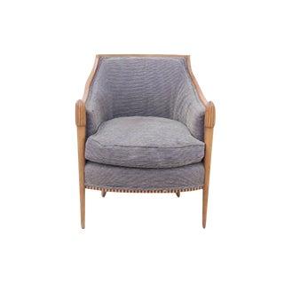 Mid-Century Style Grey Club Chair