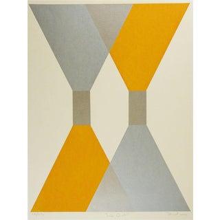 Op Art Geometric Abstract Serigraph