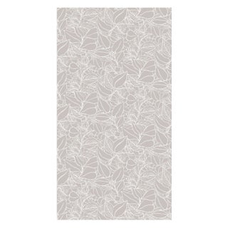 Dove Grey Garden Wall Wallpaper - Sample
