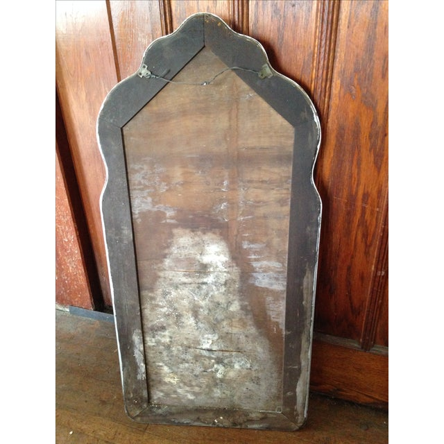 Large Vintage Etched Wall Mirror - Image 11 of 11