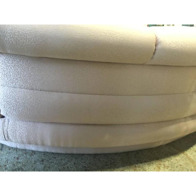 Vintage Adrian Pearsall Kidney Cloud Curved Sofas - Pair Available - Image 3 of 8