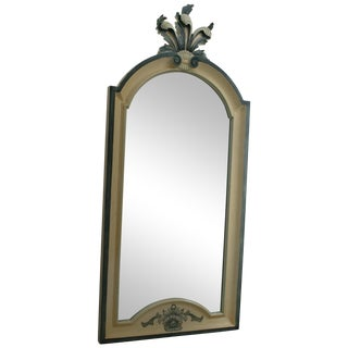 Vintage Country French La Barge Wood Framed Mirror