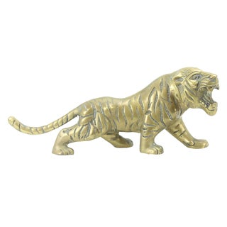 Solid Brass Tiger