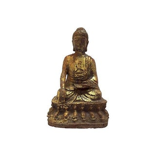 Antique Seated Altar Buddha