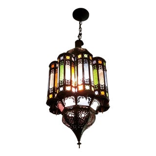 Moorish Black Chandelier