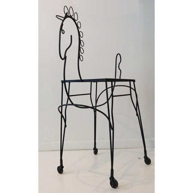 Frederick Weinberg Pony Bar Cart - Image 3 of 5