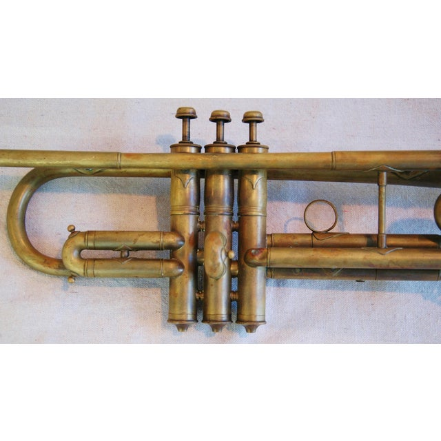 Image of Antique Brass Trumpet Horn