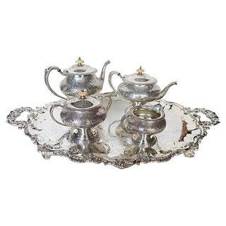 Vintage Silver Plated Coffee/Tea Set - Set of 5