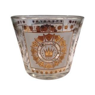 Vintage Georges Briard Regalia Pattern Ice Bucket