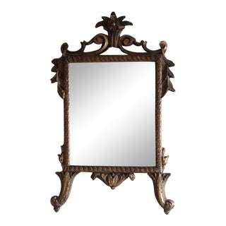 Mid 20th Century Borghese Baroque Style Gilt Italian Mirror
