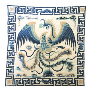 'Blue Pheonix' Lamp Mat