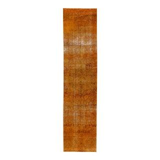 "Apadana - Vintage Overdyed Rug, 3' x 12'3"""