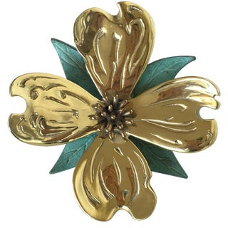 Vintage Dogwood Door Knocker