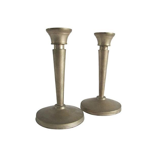 Neoclassical Candlesticks- A Pair - Image 2 of 3