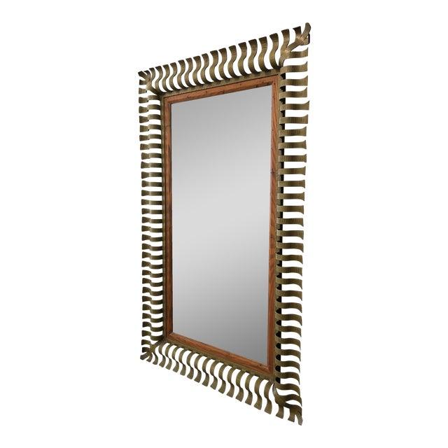 1960s Vintage Large Mirror - Image 1 of 5