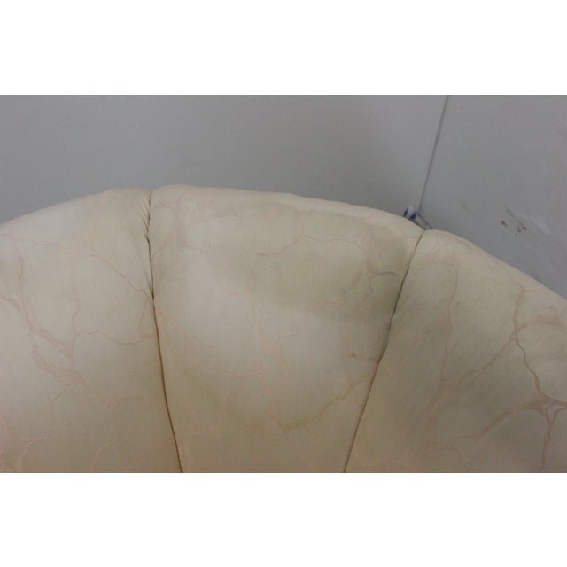 80s Glam Swivel Chairs - A Pair - Image 7 of 7