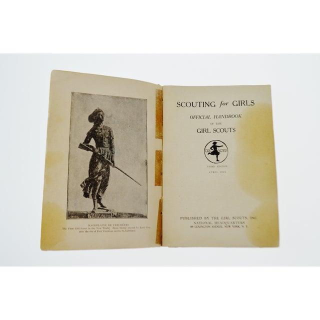 1920 Scouting for Girls Handbook - Image 6 of 11