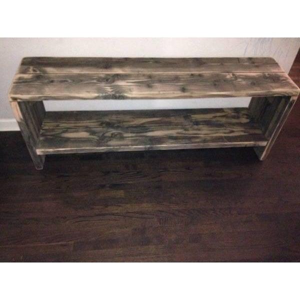 Image of Custom Rustic Wood Bench