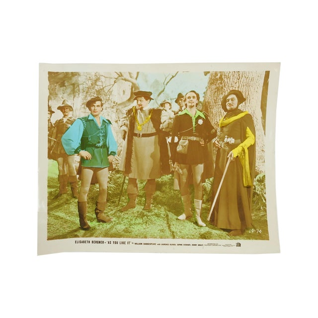 "Laurence Olivier In ""As You Like It"" Vintage 1936 Photo - Image 2 of 4"