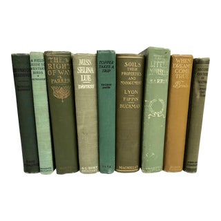 Green Books - Set of 9