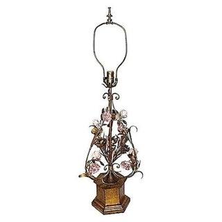 Frederick Cooper Porcelain Floral Lamp