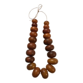Antique Copal Amber Trade Beads
