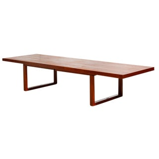 Adjustable Modernist Teak Coffee Table