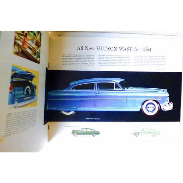 1954 Hudson Car 16-Page Brochure - Image 3 of 7