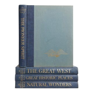 American Heritage Blue Book Set, S/4