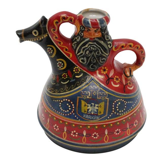 Hand Painted Polish Tea Pot / Decanter - Image 1 of 6