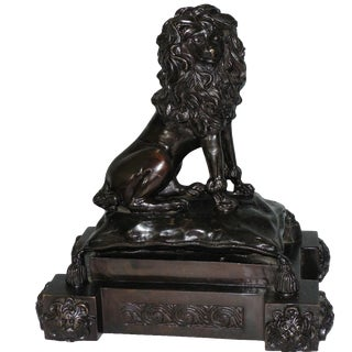 Bronze French Poodle Sculpture