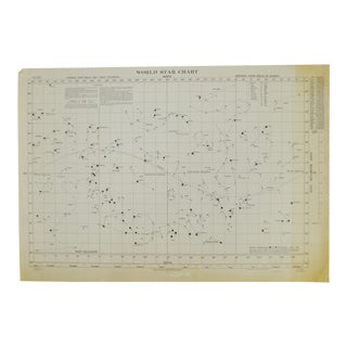 1941 World Star Chart
