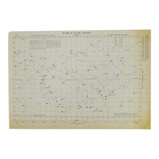 1941 World Star Chart