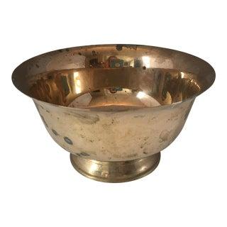Solid Brass Revere Bowl