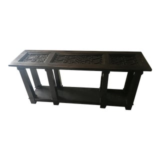 Bernhardt Pacific Canyon Console Table