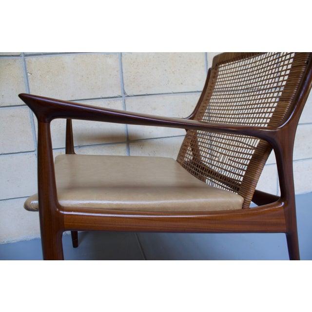 Kofod Larsen Cane Back Lounge Chair - Image 8 of 11