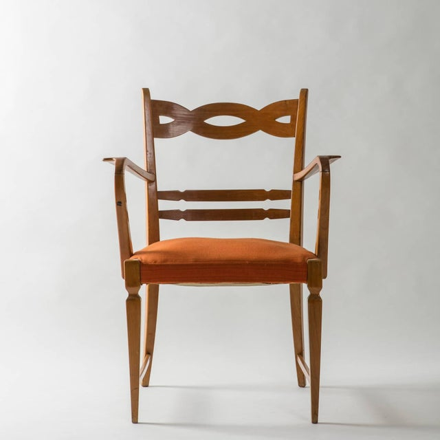 Armchair by Paolo Buffa by Marelli - Image 2 of 10