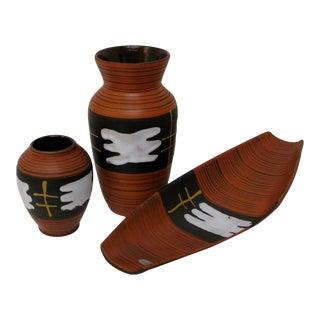Austrian Ceramic Vessels - Set of 3