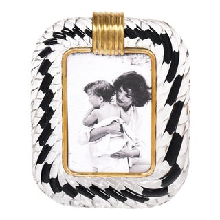 Murano Glass Vintage Frame Attributed to Venini